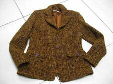 Ladies GIANFRANCO by KLASS autumnal WOOL mix JACKET COAT UK 12 equestrian riding