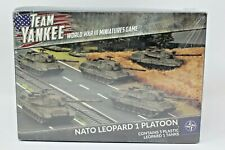 Team Yankee Nato Leopard 1 Platoon New In Box