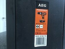 AEG DRILL DRIVER PERCUSSION BATTERY 18v BSB18G2 NEW Lithium