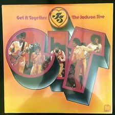The Jackson 5 / Get It Together  SEALED!  Rare Original Press