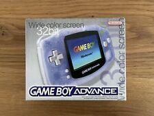 Nintendo Game Boy Handheld-Spielkonsole - Clear Blue - mit OVP, ohne Ladegerät.