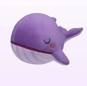 KPOP BANGTAN BOYS Fantasy Purple Whale Album TINYTAN Friends Pillow Toy Doll