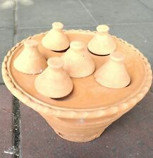 """Typical Thai Earth ware Cooking """"Kanom Krok"""" Sweet Charcoal Stove"""