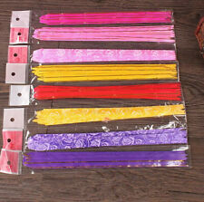 100pcs 12x200mm Pull Flower Ribbon Bow Gift Wrap Mixed COLOR