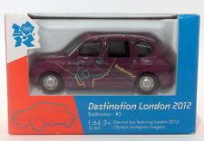 Corgi 1/64 Scale Diecast TY66107 FX Taxi Destination London 2012 #5 Badmington