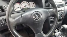 Toyota Corolla Matrix Driver Side Steering Wheel Colume Airbag BLACK Air Bag