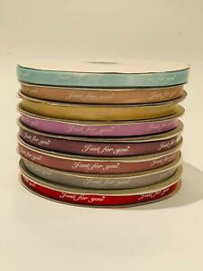 Satin ribbon 95m long 10mm W just for you bow craft  100 yard roll  scrapbooking