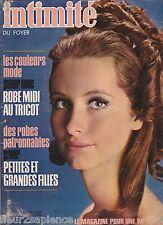 Revue Intimité N°1309 décembre 1970 roman-photo complet  tricot vintage