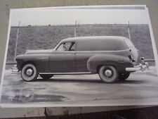 1950 PONTIAC  FACTORY SEDAN DELIVERY    12 X 18  LARGE PICTURE  PHOTO