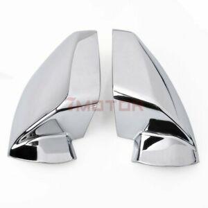 Triple Chrome Plated Side Mirror Covers For Chevy Equinox / GMC Terrain 11-2016