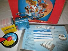 Channel Surfing Milton Bradley Complete TV Party Board Card Game Vintage 1994