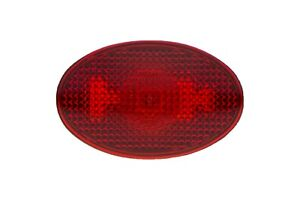 OEM 1999-2010 Ford F-Series Rear Fender Side Marker Lamp Red NEW 8C3Z-15442-A