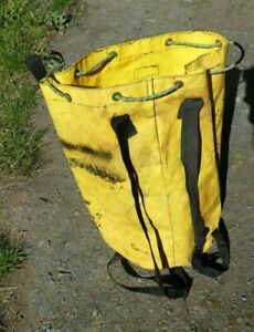 TREE SURGEON kit bag, rope bag in used condition.