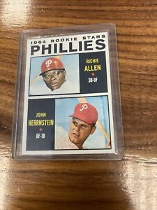 1964 Topps #243 Phillies' Rookie Stars Allen & Herrnstein