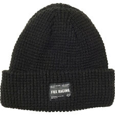 Fox NEW Men's Reformed Beanie - Black BNWT