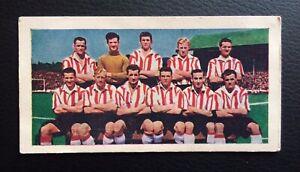 Soccer 'Bubble Gum' Soccer Teams Card 1957-58 #19 Lincoln City.