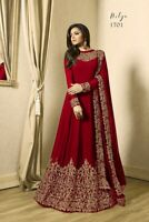 Pakistani Salwar Kameez Suit Dress Anarkali Indian Wedding eid Traditional Gown