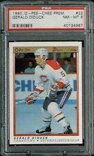 PSA 8 1990 Opeechee OPC Premier NHL Hockey Gerald Diduck #22 Montreal Canadiens