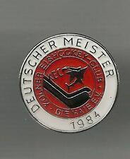 Eishockey Pin  Kölner Haie Deutscher Meister 1984   DEL NHL