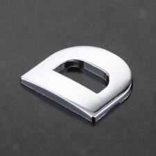 Lettres Sticker 3D du Voiture Autocollant Chiffre Chromé Décoraiton Adhésive