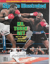 SPORTS ILLUSTRATED  -MARVIN HAGLER ON THE COVER FROM MARCH 24, 1986