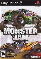 Monster Jam (Sony PlayStation 2, 2007) COMPLETE ACTIVISION NTSC EVERYONE PS2