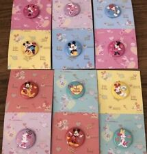 Mickey Mouse Minnie Mouse 12 Pins / Buttons