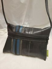 TOTALLY TUBULAR DESIGN Crossbody Bag Recycled Tires Tubes Upcycled Repurposed