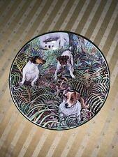 Jack Russell Terrier miniature Plate Hudson Middleton Dog Heroes 4�