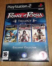 RARE prince of persia trilogy sur ps2 complet version française