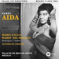 AIDA (MEXICO LIVE 03/07/1951) - CALLAS,MARIA  2 CD NEU VERDI,GIUSEPPE
