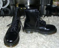 DR MARTENS boots BLACK size 4 - WORN TWICE !!