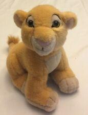 "Disney Store Lion King Simba Plush 8 1/2"""