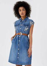 UA1059D454978104 LIU JO Vestito di jeans con cintura