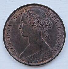 1861 VICTORIA PENNY AUNC