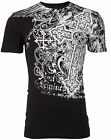 Archaic AFFLICTION Mens T-Shirt IMPACT Cross Tattoo Biker MMA UFC $40