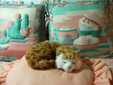 REALISTIC KITTY CAT fake fur FURRY ANIMAL REPLICA toy sync306t FREE SHIPPING USA