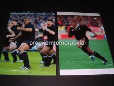 JONAH LOMU NEW ZEALAND ALL BLACKS RUGBY LEGEND THE HAKA