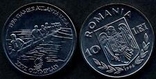 ROMANIA 10 Lei 1996 Olympic Games Scullcraft UNC