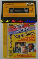 MC SUPER STARS COMPILATION BEE GEES FRIDA ABBA ERIC CLAPTON LEVEL42 no cd lp dvd