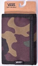 VANS OFF THE WALL Slipped Camouflage Trifold/Tri-Fold Wallet >NEW<