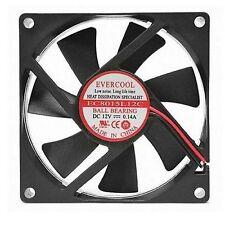 EverCool PC Computer Case Cooling Fan Cooler 4 Pin 8cm 80x80x15mm Silent