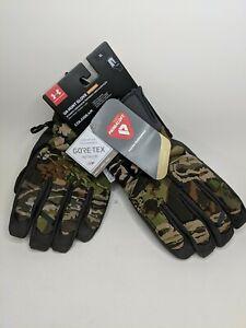 Under Armour Gore-Tex Mid Season Hunt Primaloft Windstopper Winter Gloves XL