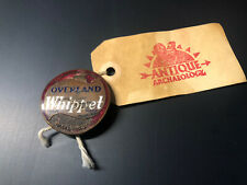 Vtg Willys Overland Whippet Radiator Badge Antique Archaeology American Pickers