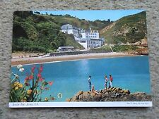 JOHN HINDE.POSTCARD.JERSEY. BOULEY BAY.NOT POSTED.