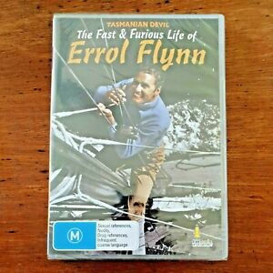 Tasmanian Devil The Fast And Furious Life Of Errol Flynn DVD BRAND NEW SEALED