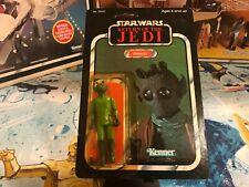 1983 PBP Star Wars ROTJ Return of the Jedi 77A Back Greedo Action Figure MOC