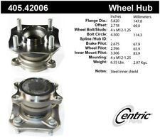 Wheel Bearing and Hub Assembly-w/o ABS Rear Centric fits 2007 Nissan Sentra