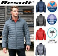 Mens PADDED JACKET Puffer Windproof Showerproof WARM Insulated Quilted  S - 2XL