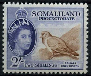 Somaliland Protectorate 1953-8 SG#146, 2s QEII Definitive, Bird MH #D41514